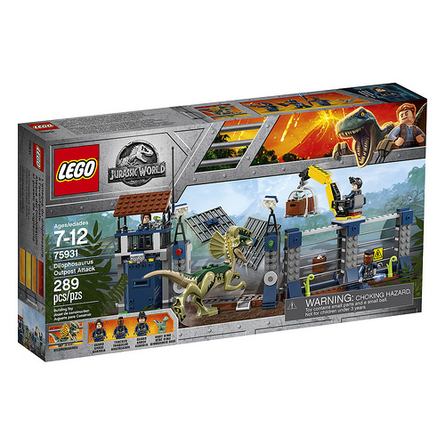 LEGO 75931 75931 Dilophosaurus Outpost Attack Box