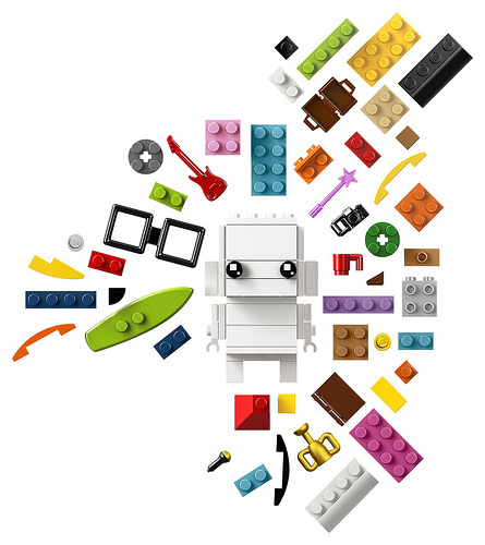 LEGO BrickHeadz 41597 Go Brick Me 3