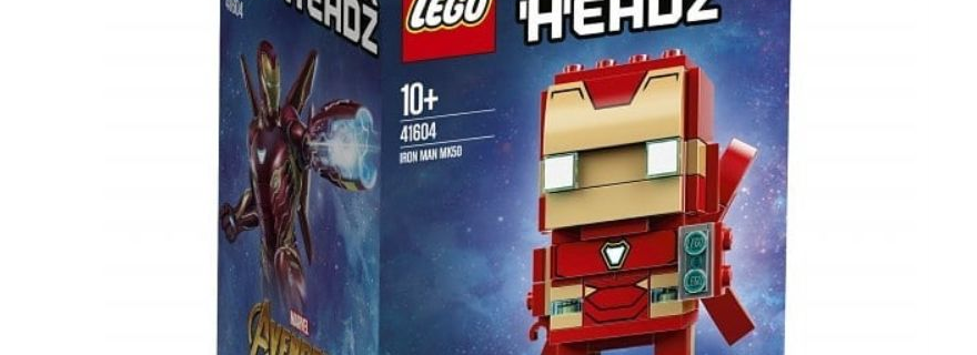 LEGO BrickHeadz 41604 Iron Man MK50 Featured