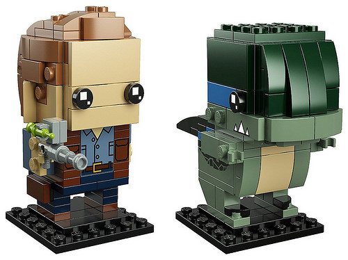 LEGO BrickHeadz Jurassic World 41614 Owen Blue 2