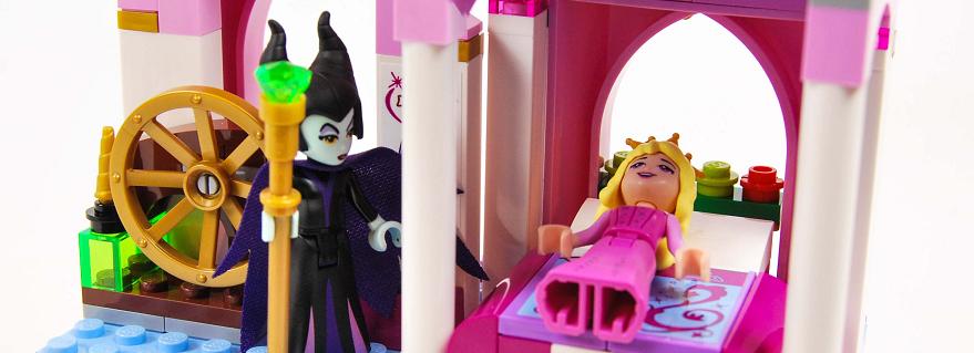 LEGO Disney Sleeping Beauty Castle Featured