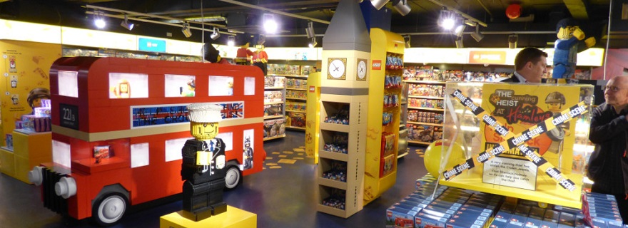 LEGO Hamleys new area featured
