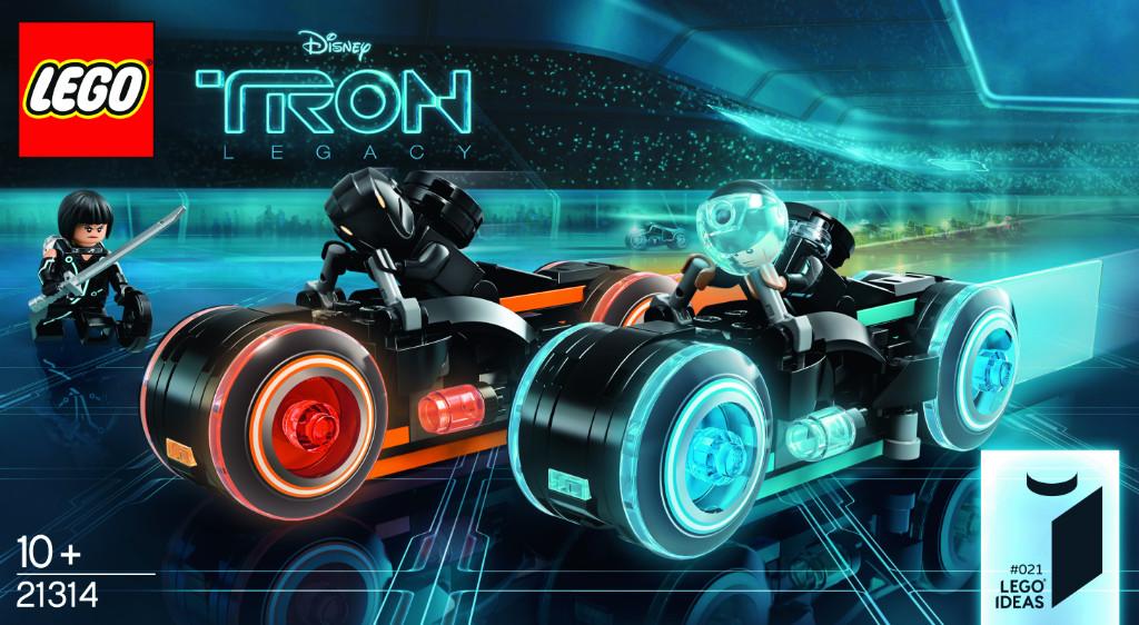 LEGO Ideas 21314 TRON Legacy 14