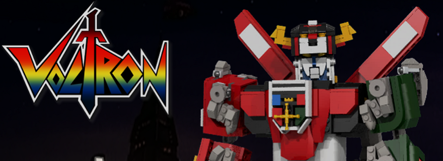LEGO Ideas Voltron Featured