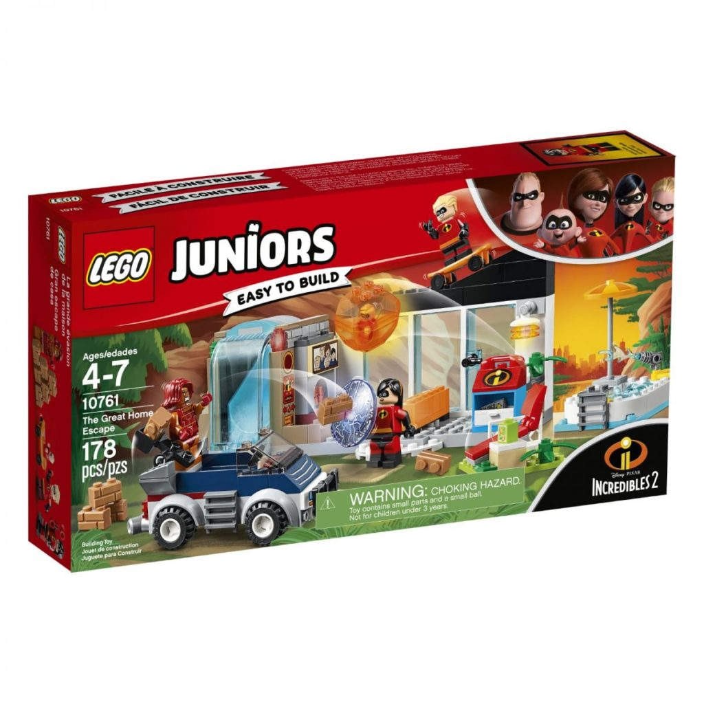 LEGO Juniors Incredibles 2 10761 The Great Home Escape Box