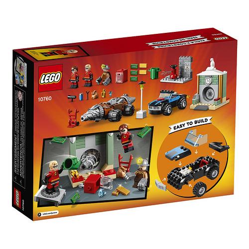 LEGO Juniors Incredibles 2 Underminers Bank Heist Box 2