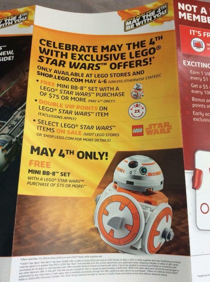 2018 LEGO Star Wars May 4 1