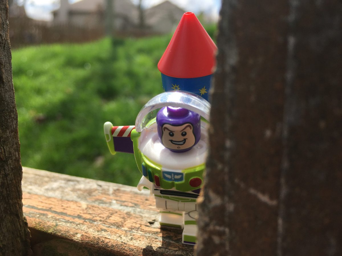 Brick Pic Buzz Lightyear