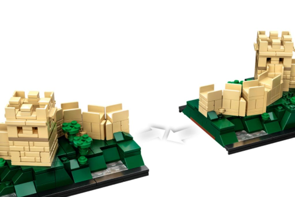 LEGO Architecture 21041 Great Wall Of China 3