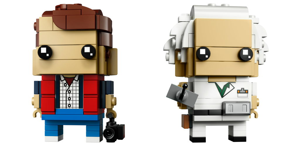 LEGO BrickHeadz Back To The Future 3