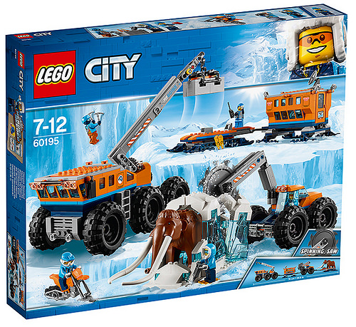 LEGO City 60195 Arctic Exploration Base
