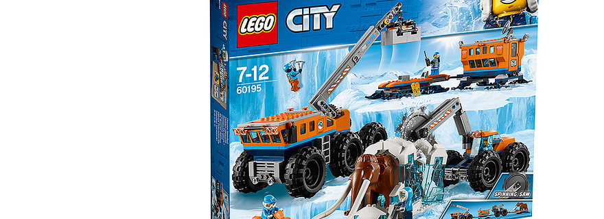 LEGO City 60195 Arctic Exploration Base Featured