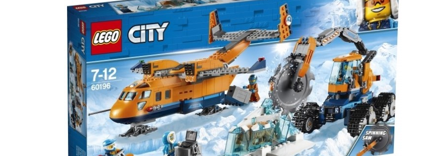 LEGO City 60196 Arctic Supply Aircraft Featured