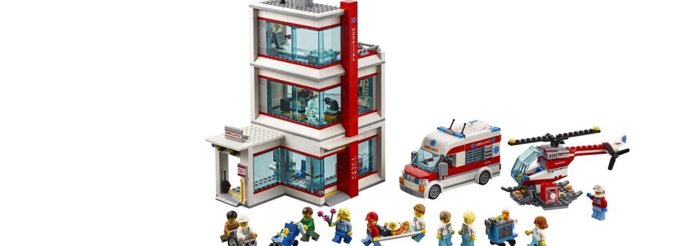 LEGO City 60204 Hospital Featured