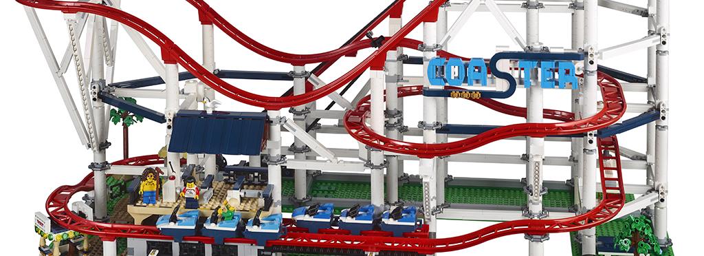 LEGO Creator Expert 10261 Rollercoaster Featured