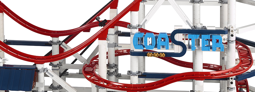 see the new lego creator expert 10261 roller coaster in action. Black Bedroom Furniture Sets. Home Design Ideas
