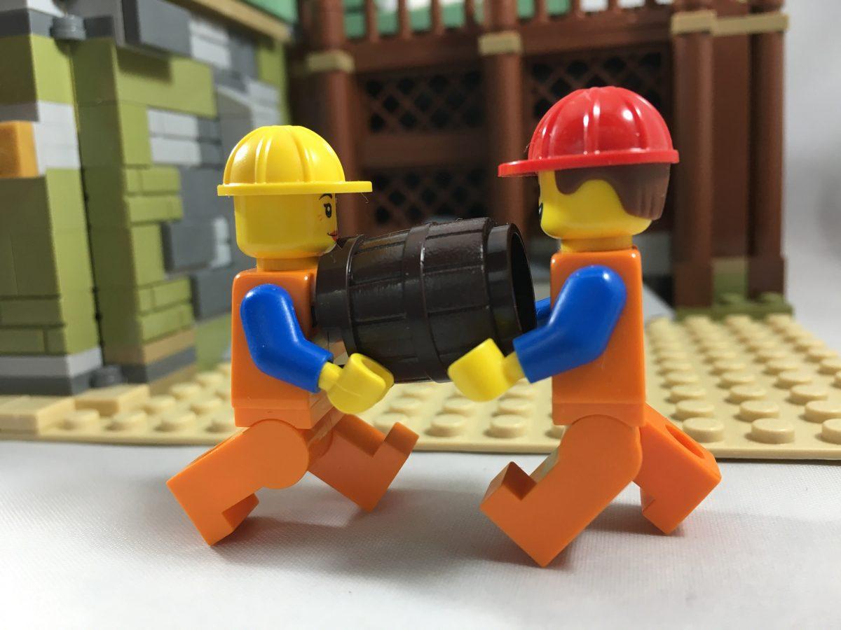 Brick Pic Barrel