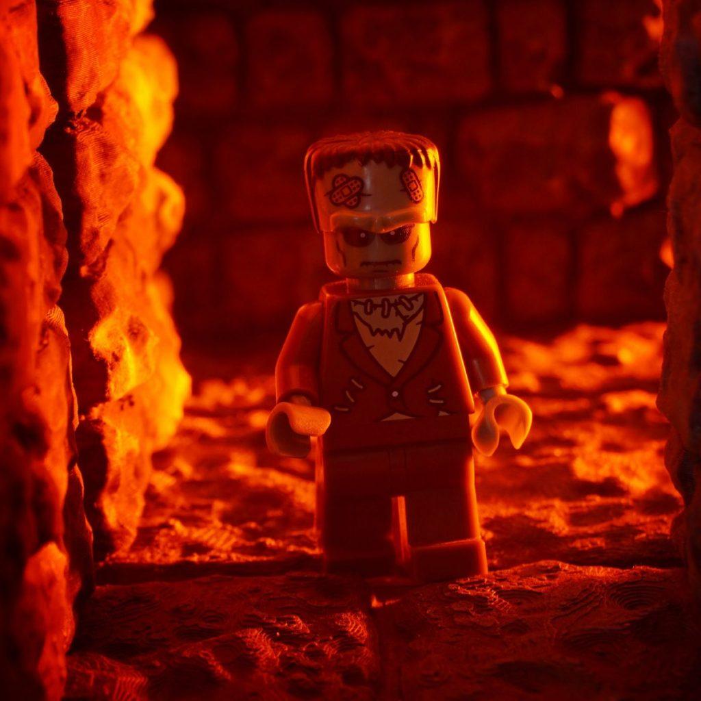 Brick Pic Frankenstein