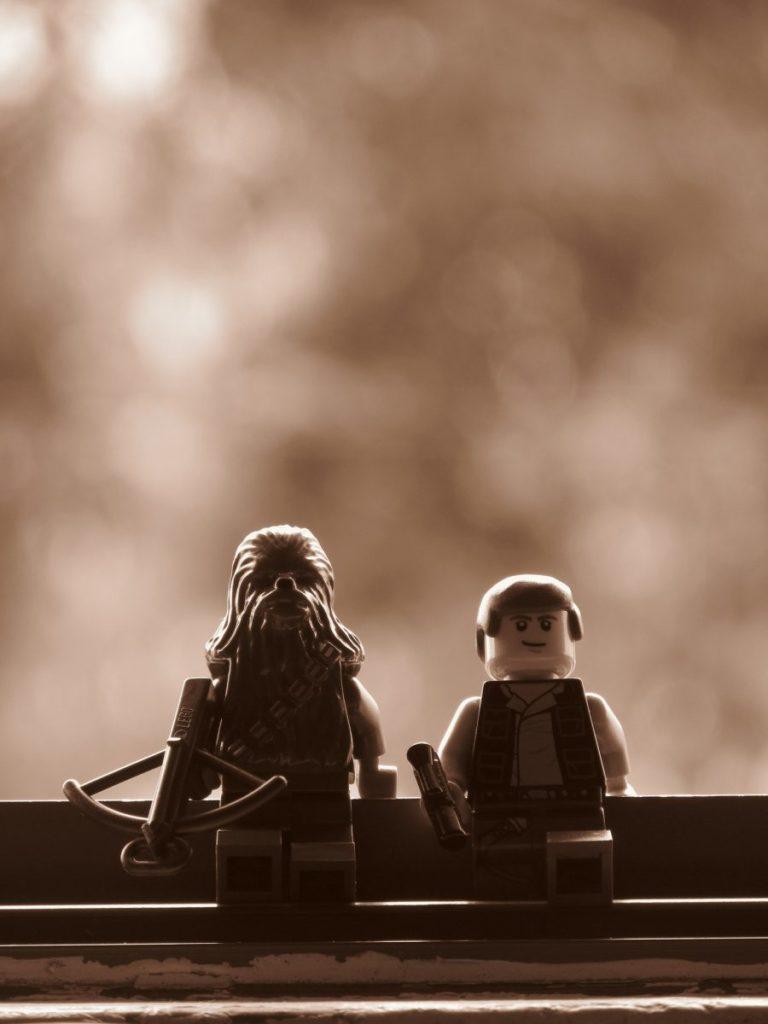 Brick Pic Han Solo Chewbacca