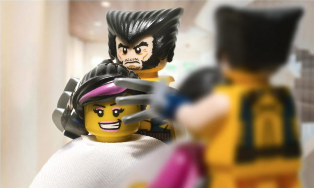 LEGO Wolverine Haircut