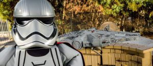 WINTER HAVEN, FL -- April 5, 2018 -- Captain Phasma and Darth Vader preview for LEGO Star Wars Miniland display.  (PHOTO / LOCK + LAND, Edward Linsmier for LEGOLAND Florida Resort)
