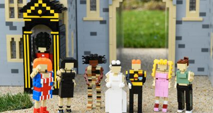 Free to USE - Editorial Handout - The LEGOLAND® Windsor Resort has created its very own 39,960 LEGO® brick Windsor Castle and Royal wedding scene for its world famous Miniland attraction, to celebrate Prince Harry and Meghan Markle's upcoming nuptials. The mini brick Castle is permanently on display from today, complete with a 10cm tall mini Harry and Meghan, plus miniature LEGO lookalikes including Elton John and the Spice Girls to mimic the real-life event.  Tiny figures of The Spice Girls with Prince Harry, Meghan Markle, part of the all-new Royal wedding scene unveiled at The LEGOLAND® Windsor Resort today. The Park has created its very own 39,960 LEGO® brick Windsor Castle for its world famous Miniland attraction to celebrate Prince Harry and Meghan Markle's upcoming nuptials.  Tiny figures of Prince Harry, Meghan Markle, part of the all-new Royal wedding scene unveiled at The LEGOLAND® Windsor Resort today. The Park has created its very own 39,960 LEGO® brick Windsor Castle for its world famous Miniland attraction to celebrate Prince Harry and Meghan Markle's upcoming nuptials.  Tiny figures of Prince Harry, Meghan Markle, part of the all-new Royal wedding scene unveiled at The LEGOLAND® Windsor Resort today. The Park has created its very own 39,960 LEGO® brick Windsor Castle for its world famous Miniland attraction to celebrate Prince Harry and Meghan Markle's upcoming nuptials.  Tiny figures of Prince Harry, Meghan Markle, part of the all-new Royal wedding scene unveiled at The LEGOLAND® Windsor Resort today. The Park has created its very own 39,960 LEGO® brick Windsor Castle for its world famous Miniland attraction to celebrate Prince Harry and Meghan Markle's upcoming nuptials.  Tiny figures of Prince Harry, Meghan Markle, part of the all-new Royal wedding scene unveiled at The LEGOLAND® Windsor Resort today. The Park has created its very own 39,960 LEGO® brick Windsor Castle for its world famous Miniland attraction to celebrate Prince Harry and Meghan Markle's upcoming nuptials.  Tiny figures of Prince Harry, Meghan Markle, part of the all-new Royal wedding scene unveiled at The LEGOLAND® Windsor Resort today. The Park has created its very own 39,960 LEGO® brick Windsor Castle for its world famous Miniland attraction to celebrate Prince Harry and Meghan Markle's upcoming nuptials.