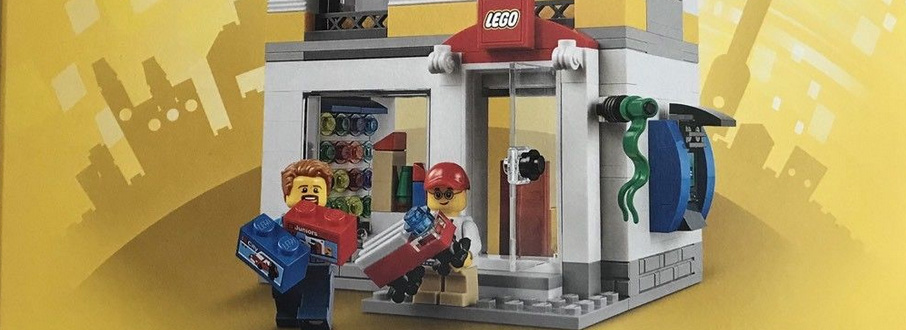 LEGO 40305 LEGO Brand Store Featured