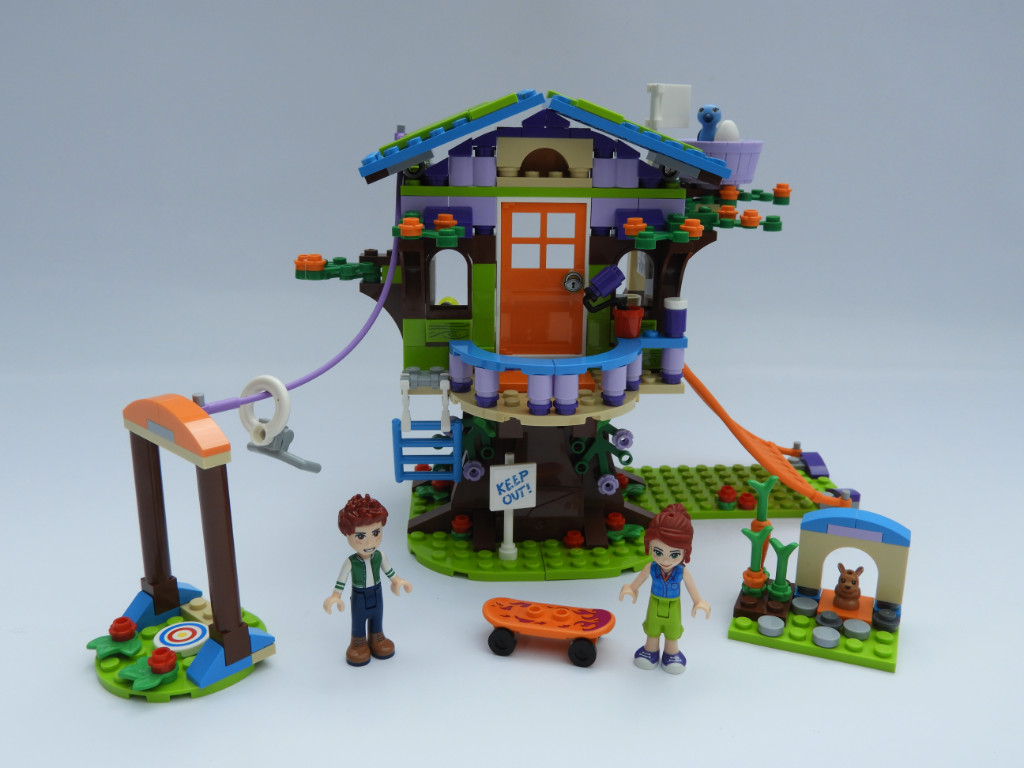 Lego Friends 41335 Mias Tree House Review