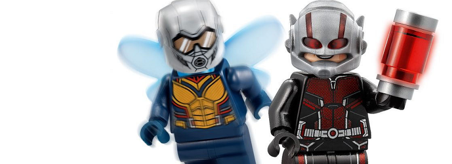 LEGO MARVEL SUPER HEROES 76109 QUANTUM REALM EXPLORERS ANT-MAN WASP New