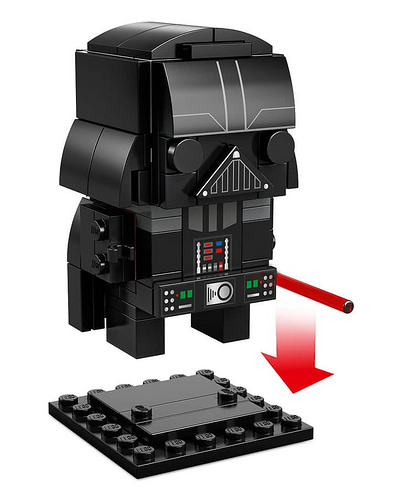LEGO BrickHeadz Star Wars 41619 Darth Vader 5