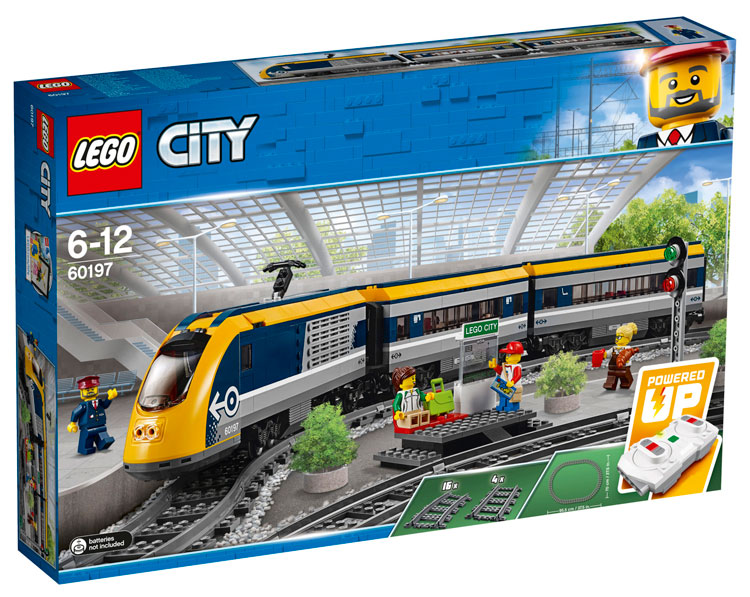 LEGO City 60197 Passenger Train 1