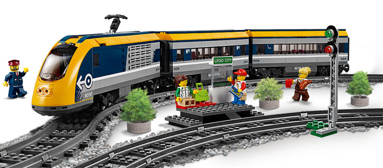 LEGO City 60197 Passenger Train 2