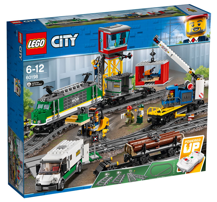 LEGO City 60198 Cargo Train 1