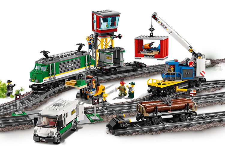 LEGO City 60198 Cargo Train 2