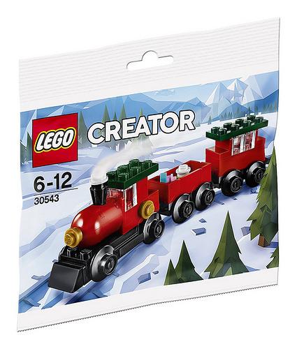 LEGO Creator 30543 Christmas Train 1