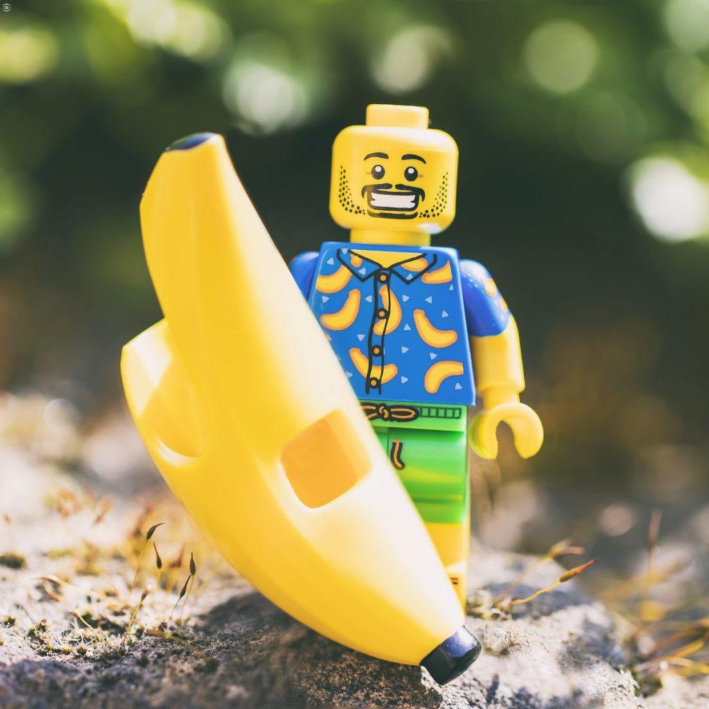 Brick Pic Banana Man