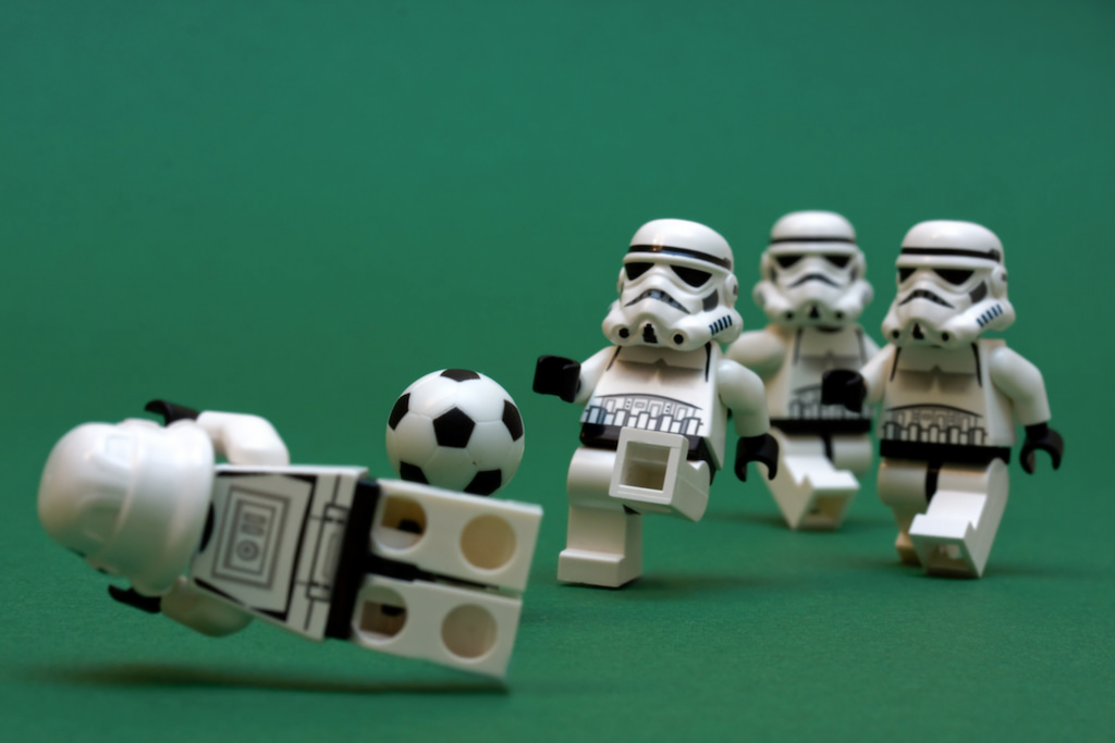 LEGO Football Stormtroopers