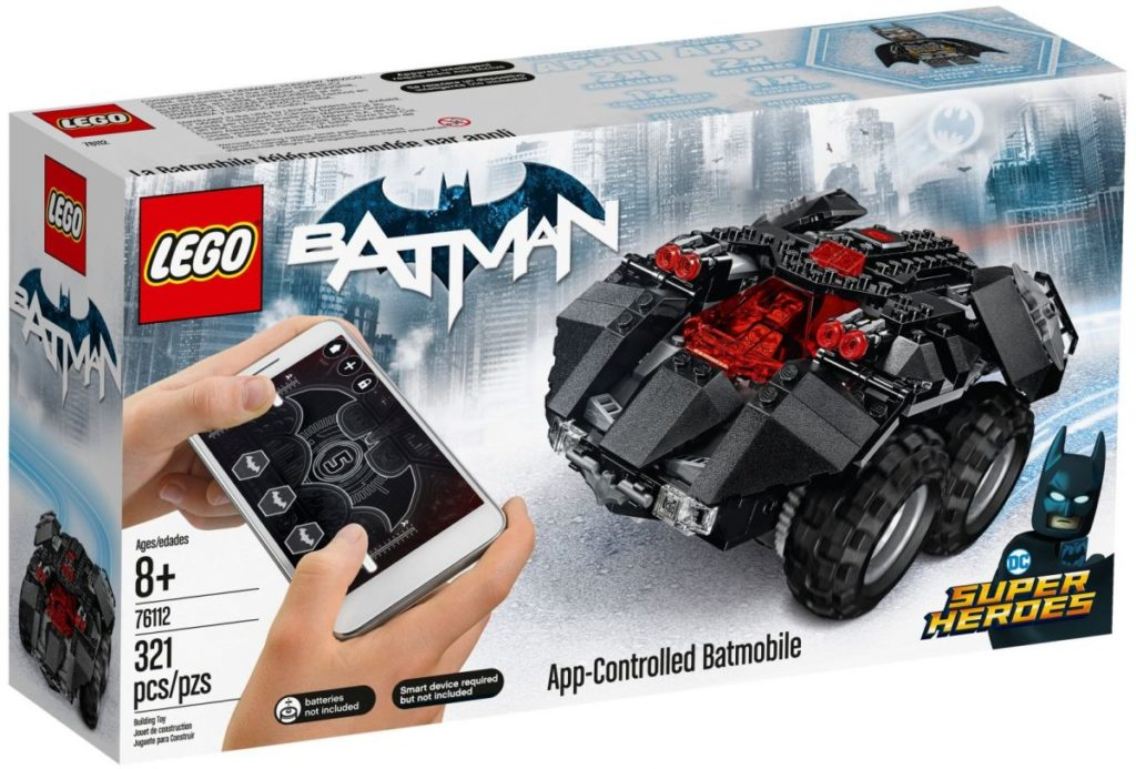 LEGO 76112 App Controlled Batmobile 2