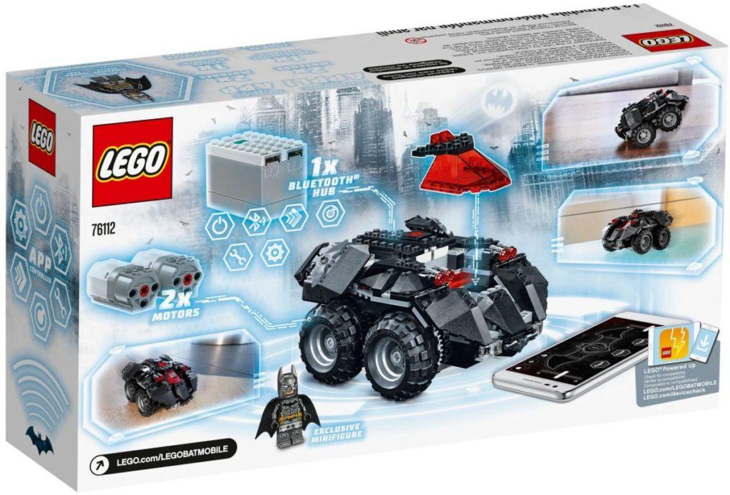 LEGO 76112 App Controlled Batmobile 3