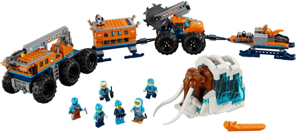 LEGO City 60195 Mobile Featured