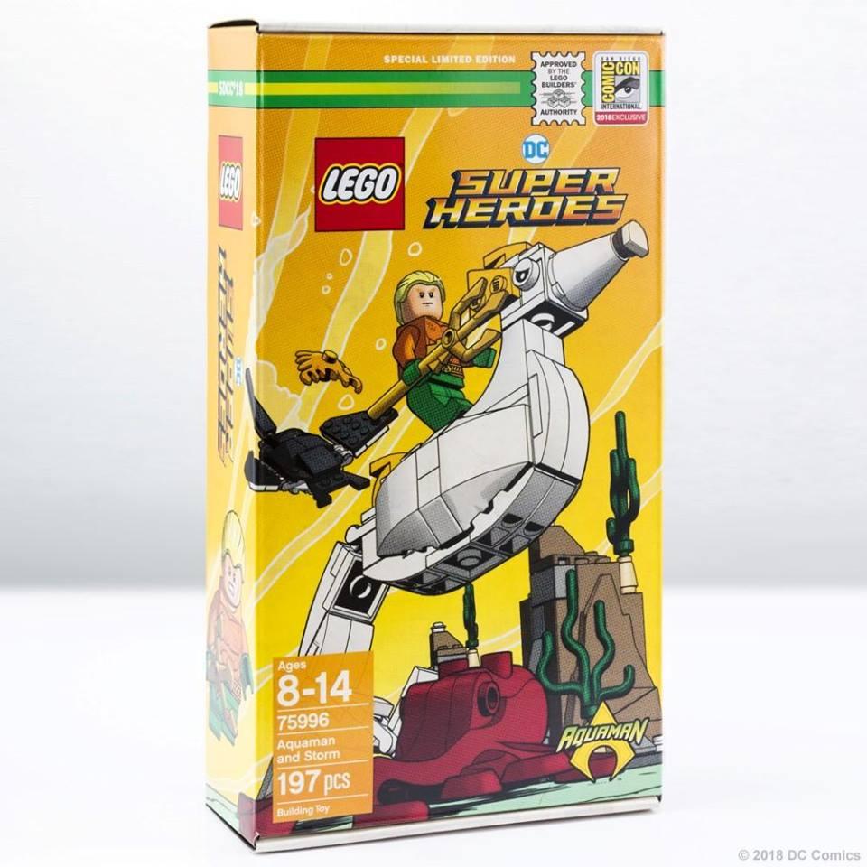 LEGO DC Super Heroes 75996 Aquaman And Storm 1