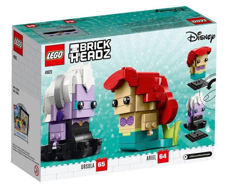 LEGO Disney 41623 Ariel Ursula 4