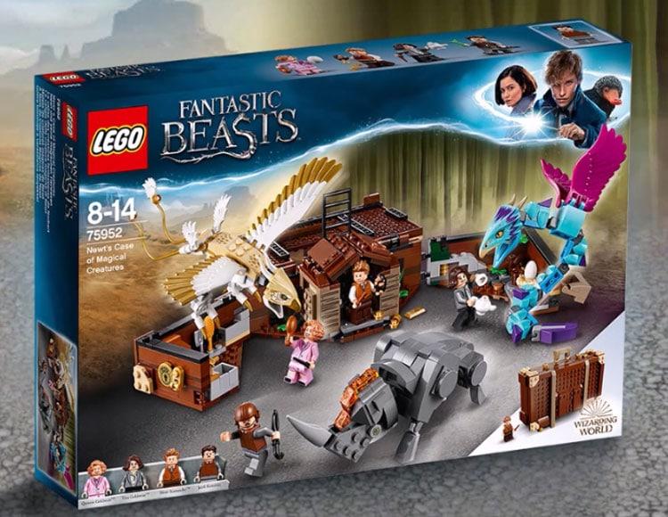 LEGO Fantastic Beasts 75952 Newts Case Of Magical Creatures 1