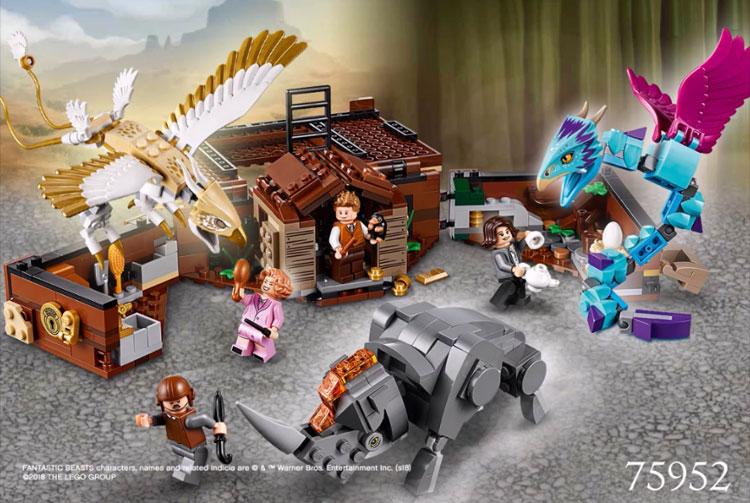LEGO Fantastic Beasts 75952 Newts Case of Magical Creatures 2
