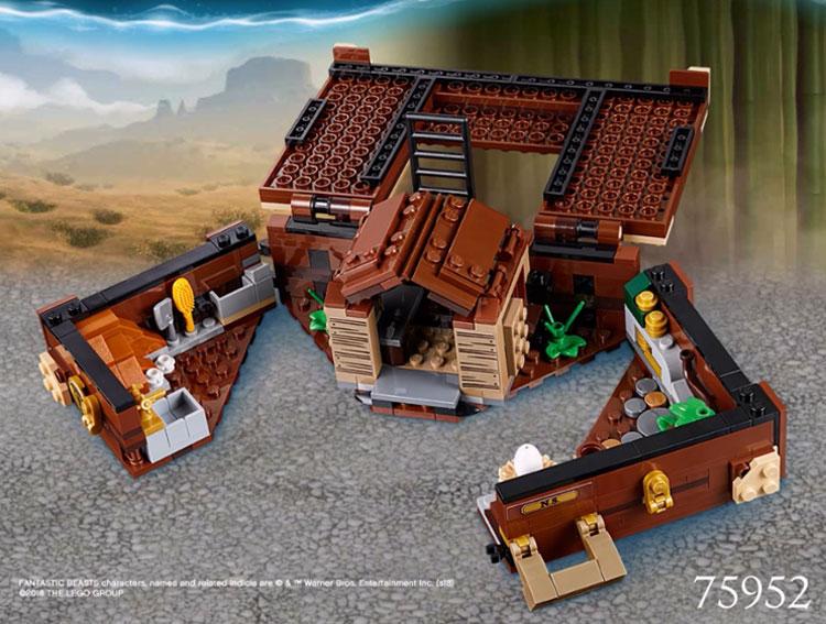 LEGO Fantastic Beasts 75952 Newts Case Of Magical Creatures 3