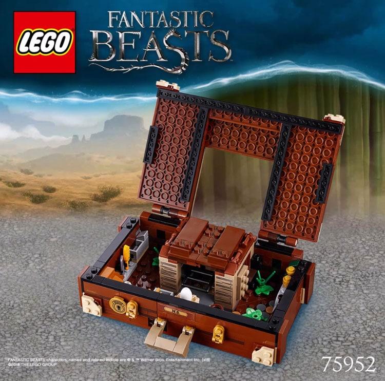 LEGO Fantastic Beasts 75952 Newts Case Of Magical Creatures 4