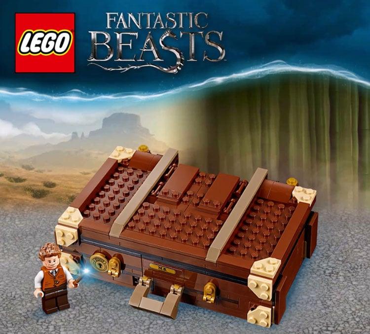 LEGO Fantastic Beasts 75952 Newts Case Of Magical Creatures 5