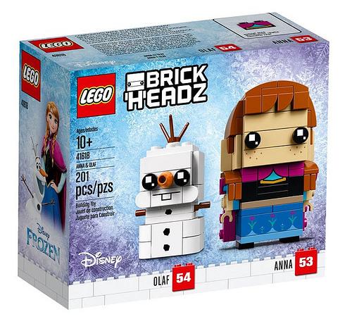 LEGO Frozen 41618 Anna Olaf 1