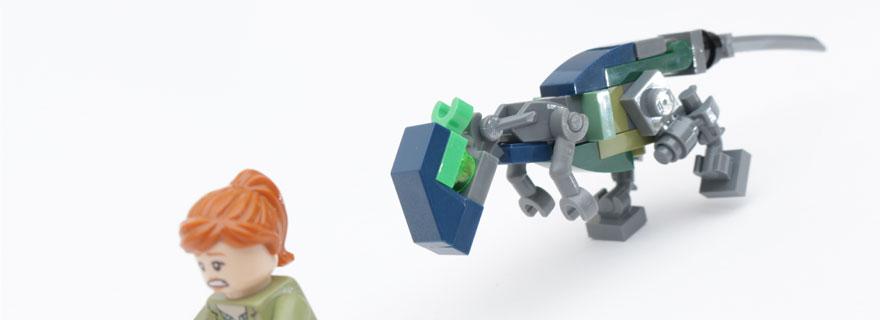 LEGO Jurassic World Fallen Kingdom Pachycephalosaurus title