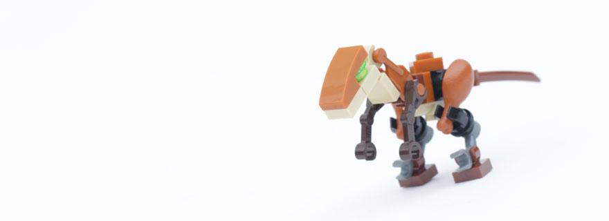 LEGO Jurassic World Fallen Kingdom Velociraptor Title
